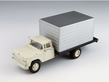 CVR Picture for '60 Ford Box truck White/Silver