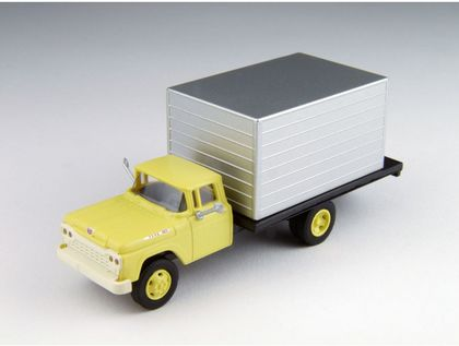 CVR Picture for '60 Ford Box truck Yellow/Silver