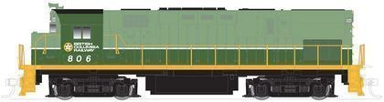 CVR Picture for C425 Ph2 BC Rail #809 Grn/Yell