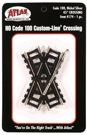 CVR Picture for Code100 NS 45 degree crossing
