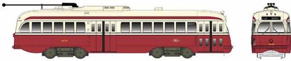 CVR Picture for PCC Trolley TTC #4750