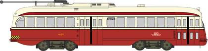 CVR Picture for PCC Trolley TTC #4750 w/DS