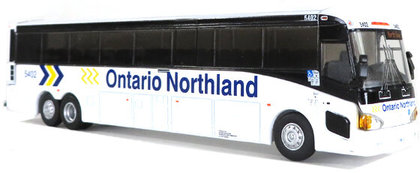CVR Picture for MCI D4505 Bus Ontario Northland