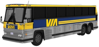 CVR Picture for MCI MC-9 Bus VIA Rail