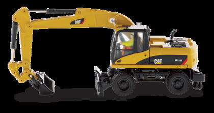 CVR Picture for CAT M318D Wheeled Excavator