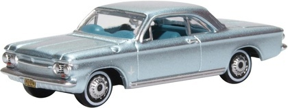 CVR Picture for 1963 Chev Corvair Coupe Silver Blue
