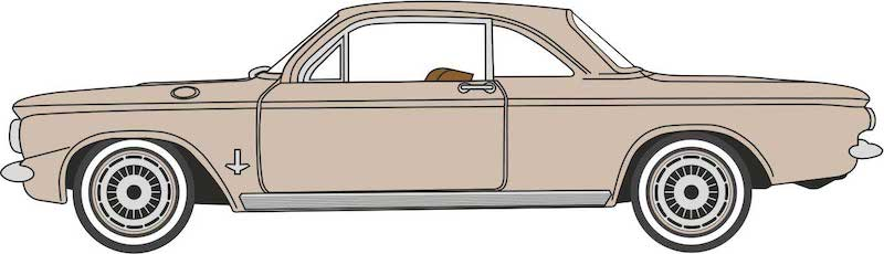 CVR Picture for 1963 Chev Corvair Coupe Tan