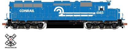 CVR Picture for RC SD45 Conrail #6145 w/DS