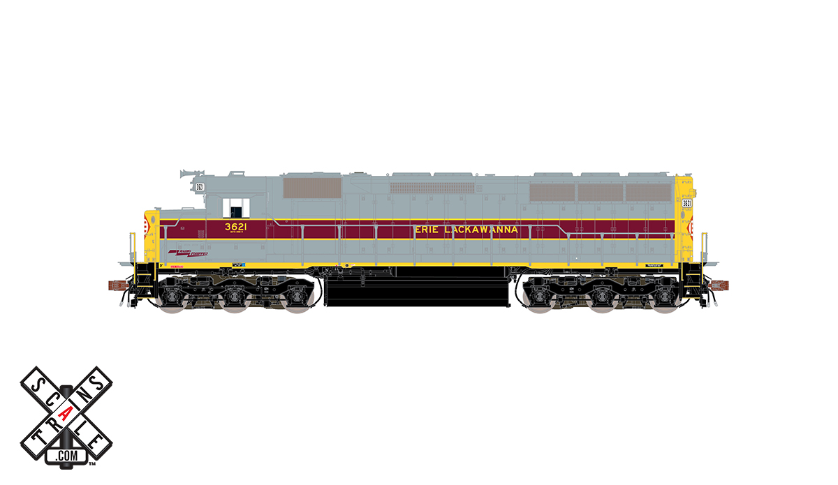 CVR Picture for RC SD45 EL #3621 w/DS