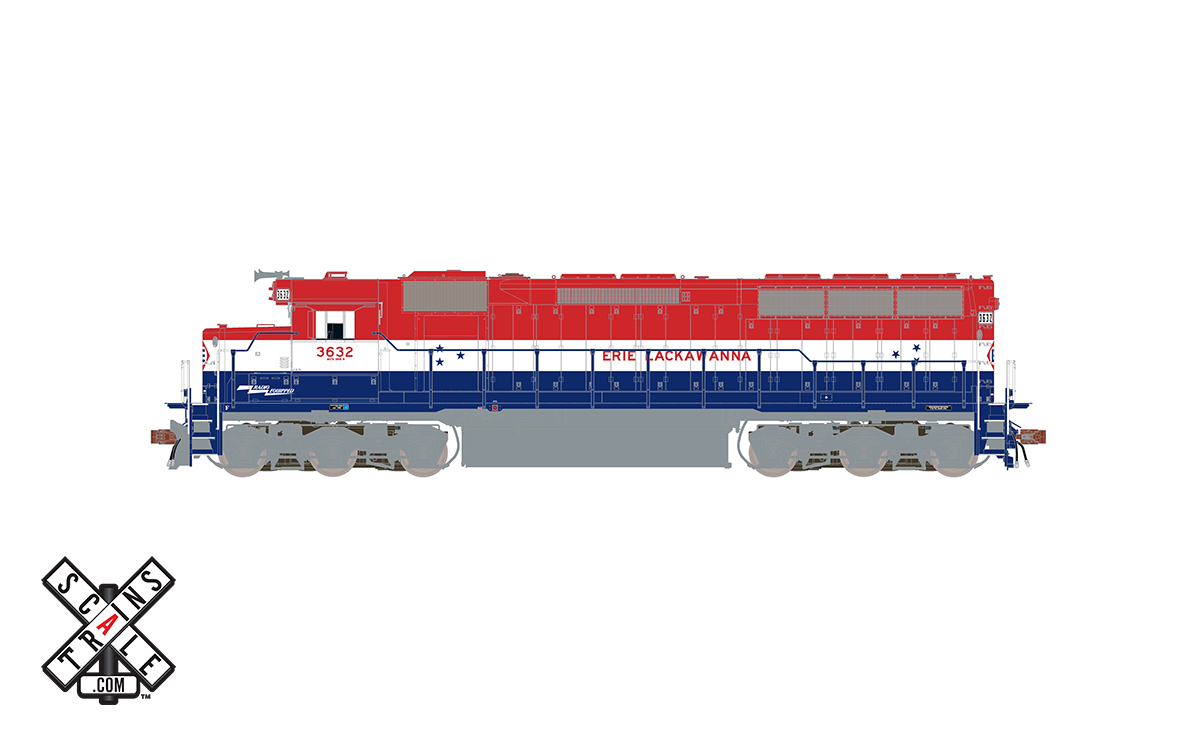 CVR Picture for RC SD45 EL/Bicentennial#3632w/DS