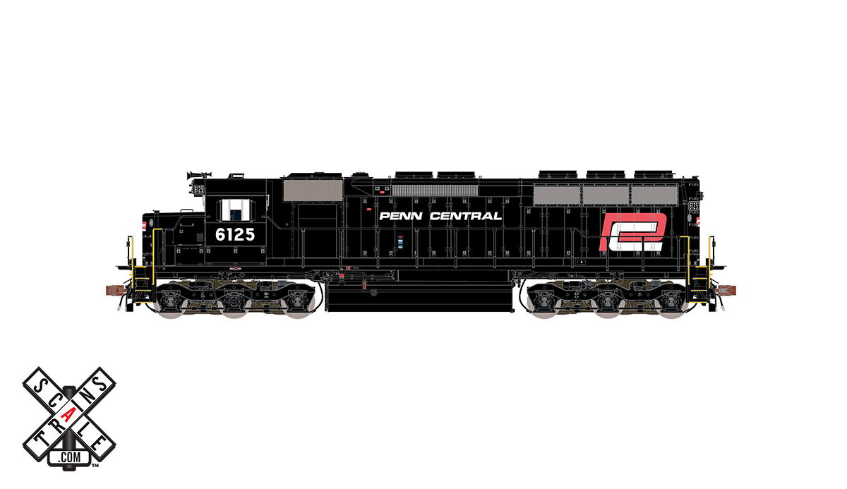 CVR Picture for RC SD45 PC/RedLogo #6125 w/Ds