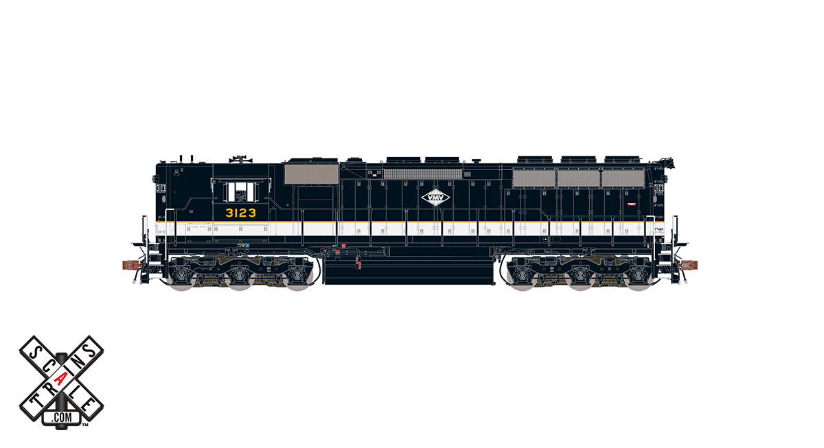 CVR Picture for RC SD45 VMV/ex-Southern#3123w/DS