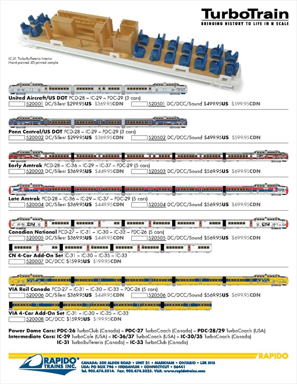 What's New N Scale trains   What's New Z Scale trains   Model Trains
